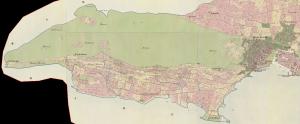 Katastarska karta Marjana iz 1831. godine