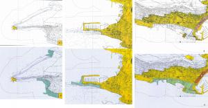 Prostorni plan uređenja Grada Splita - prije i nakon javne rasprave. Nakon javne rasprave osnovana su građevinska područja unutar obuhvata zaštićenog područja Park šume Marjan čime je onemogućeno zainteresiranoj javnosti dati primjedbe na novoosnovana građevinska područja