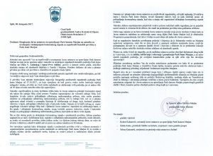 08.10.17. Pismo gradonačelniku - održavanje PŠM
